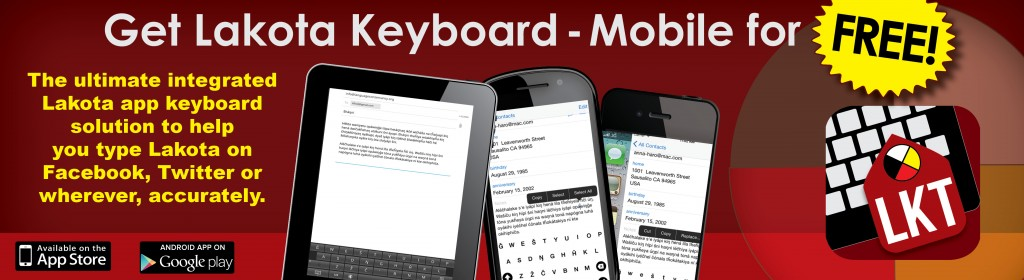 Lakota Keyboard Blog Promo