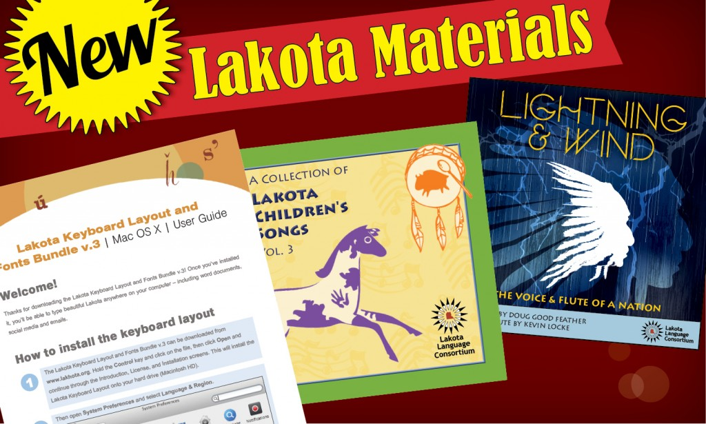 New Lakota Materials